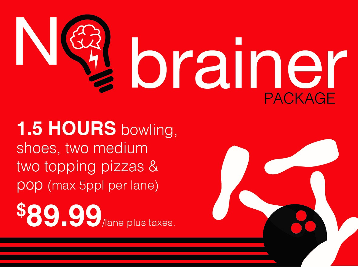 no brainer bowling