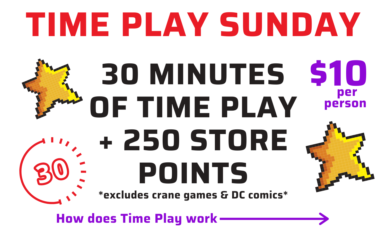 Time play sunday